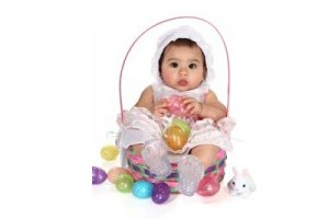 babies at easter