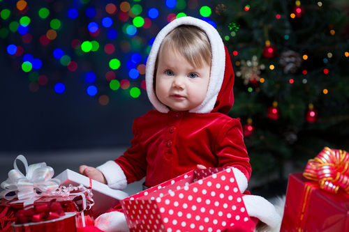 How many Christmas presents per child?