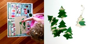 3 simple Christmas crafts for young children