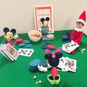 elf games night with the girls