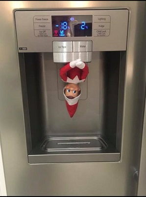 ice ice baby - thats one cold elf