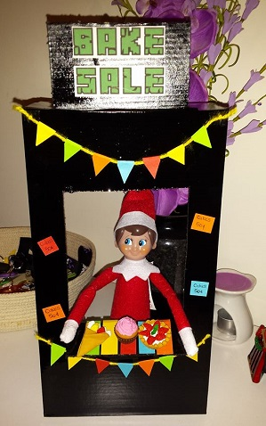 the elves are having a bake sale - Best Elf On The Shelf Ideas This Christmas