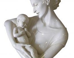 263075_mother_and_child_sculpture