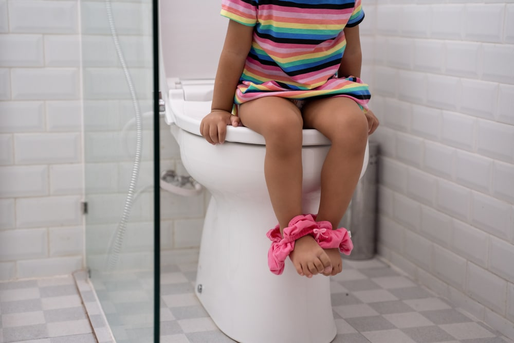 starting toilet training