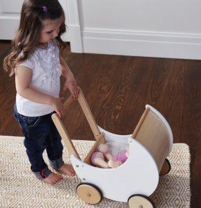 Doll and pram set for kids