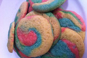rainbow biscuits