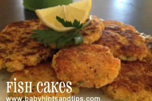 Crumbed baked fish fillet recipe baby hints and tips for Baked fish cakes