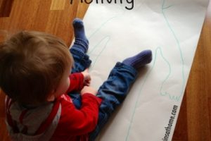 toddler body awareness activity