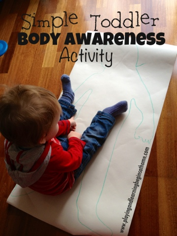 simple toddler body awareness activities craft. Black Bedroom Furniture Sets. Home Design Ideas