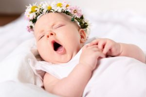 Sleepy 4 month old baby - the four months baby routine