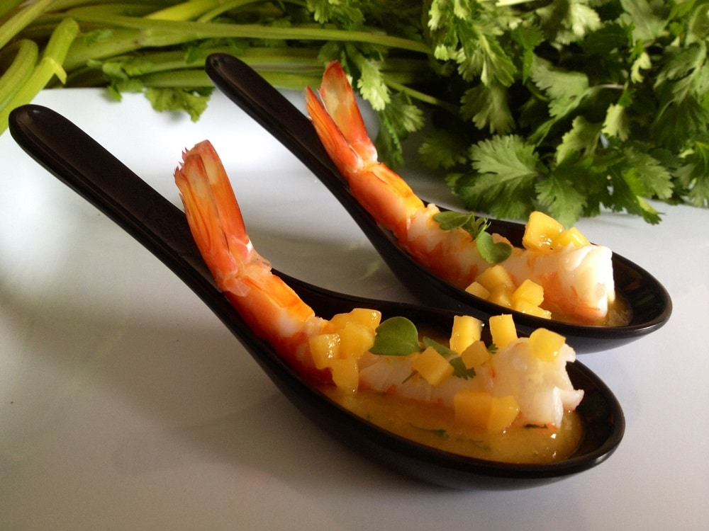 Summer Prawn Party Spoons recipe