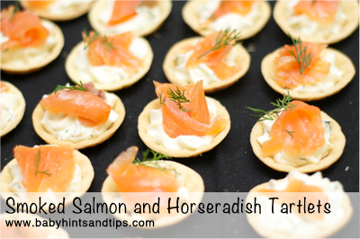 Recipe smoked salmon and horseradish tartlets baby for Smoked fish near me