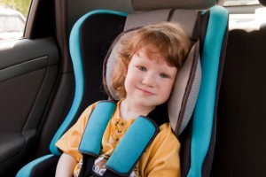 Toddler in Car