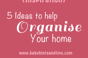home-organisation-ideas