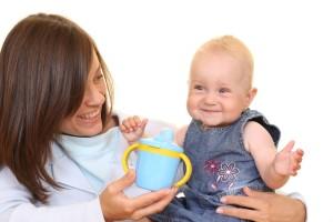 start giving baby water
