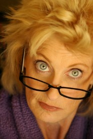 Older woman in glasses