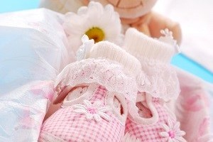 baby shoes for girl in gift box