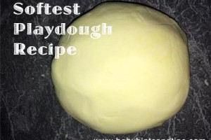 softest playdough recipe