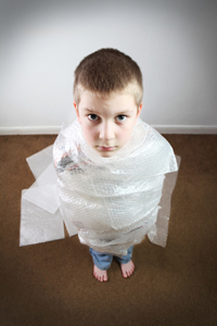 Wrapping Children in Cotton Wool