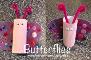Butterflies | Baby Hints & Tips