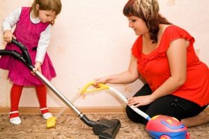 cleaning for the lazy mum