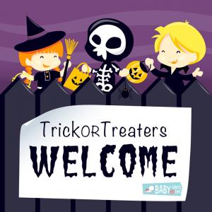 Halloween signs for your door - Welcome
