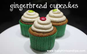 gingerbread cupcakes thumb
