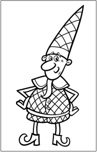 COLOURING : Christmas elf | Baby Hints & Tips