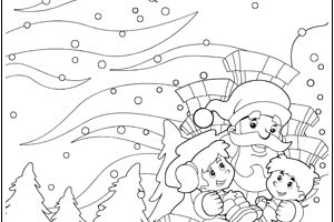 CHRISTMAS COLOURING thumb