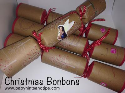 DIY Christmas Bon Bons or Christmas Crackers