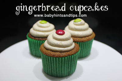 Gingerbread Cupcakes | Baby Hints & Tips