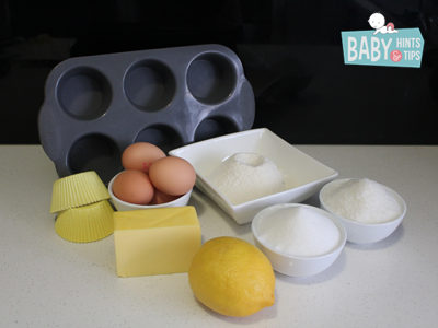 Lemon coconut cupcakes ingredients