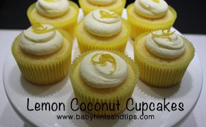 Lemon coconut cupcakes thumb