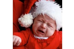 cry at santa