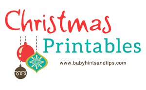 Christmas Printables | Baby Hints & Tips