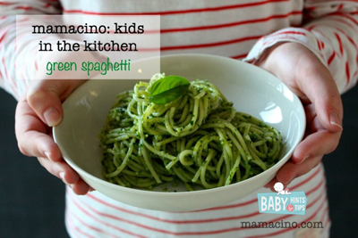 RECIPE Green Spaghetti | Baby Hints & Tips
