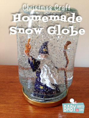 homemade christmas snow globes | Baby Hints & Tips