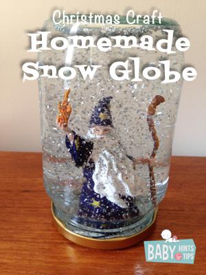 homemade christmas snow globes   Baby Hints & Tips