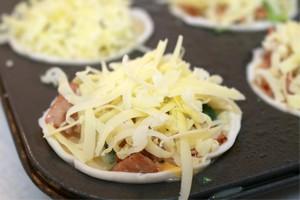 cheese mini quiche