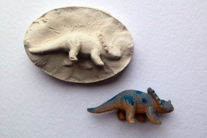 fossil craft for kids