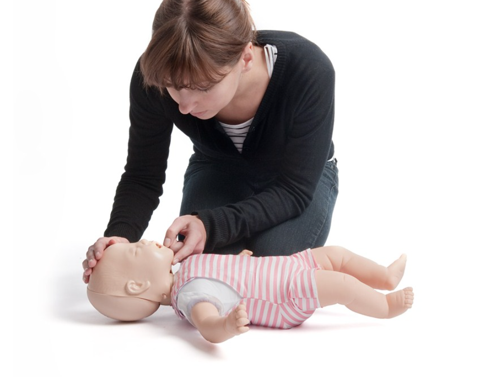 how to give cpr to a child