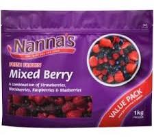 nannas berry recall