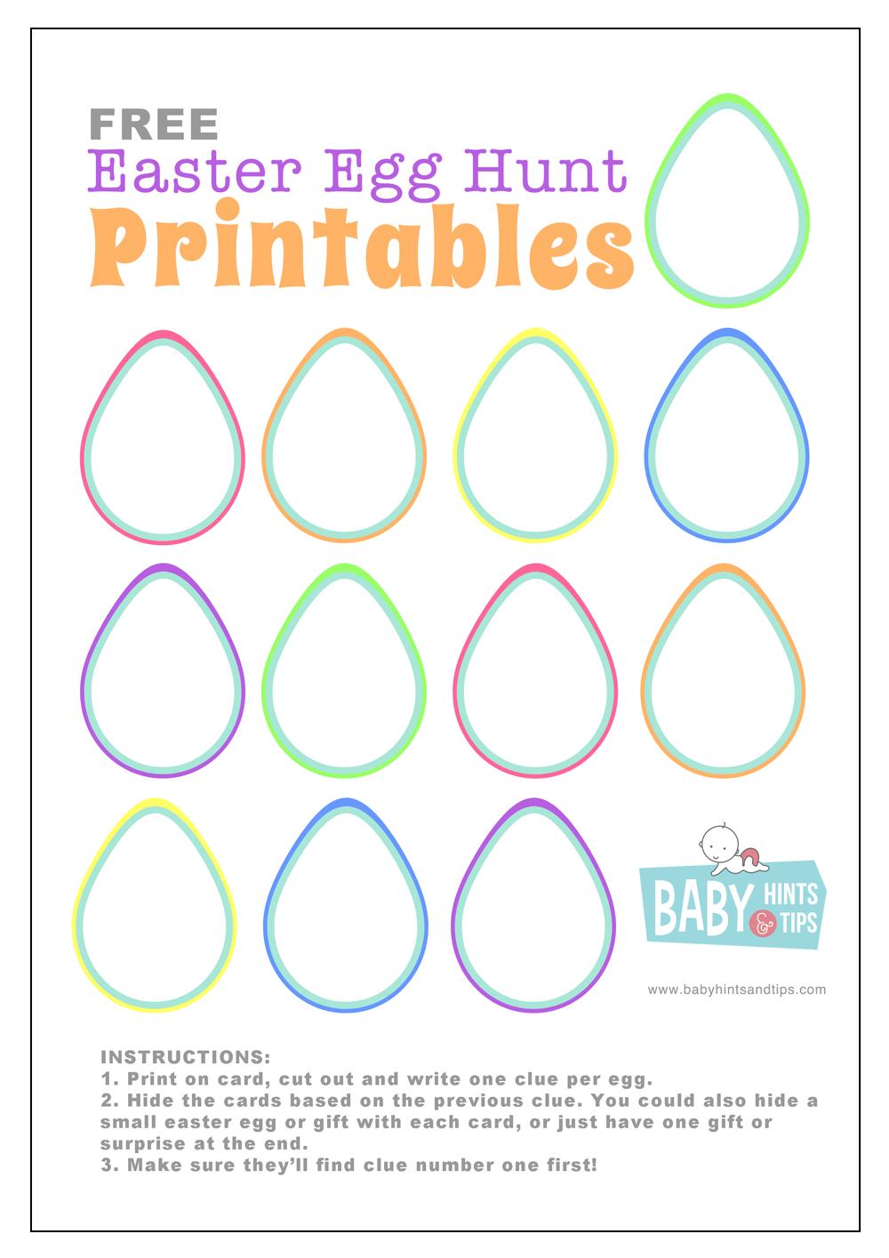 Food Ideas For Easter Egg Hunt