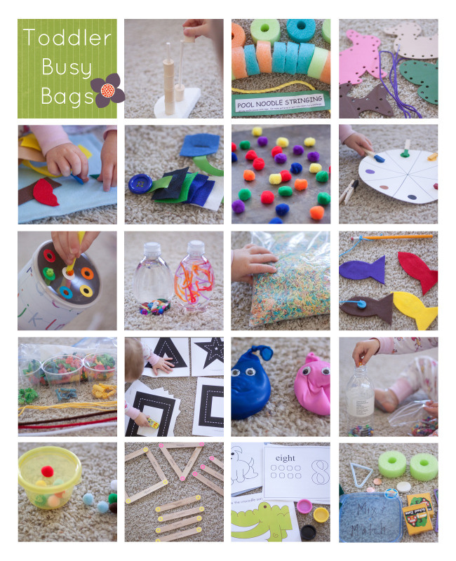 Busy Bags - Small Potatoes Blog