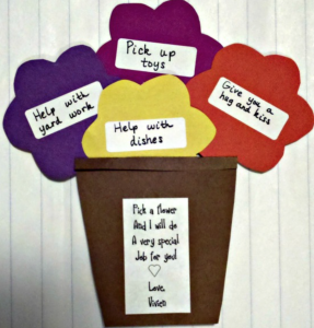 Job tree mothers day craft
