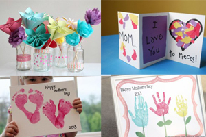 Mother's Day Craft Ideas - 10 Simple Projects