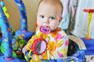 funny baby with dummy - When to Stop Sterilising Baby Bottles? Baby Hints and Tips