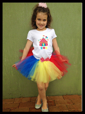 carnival themed party outfit - circus tent top