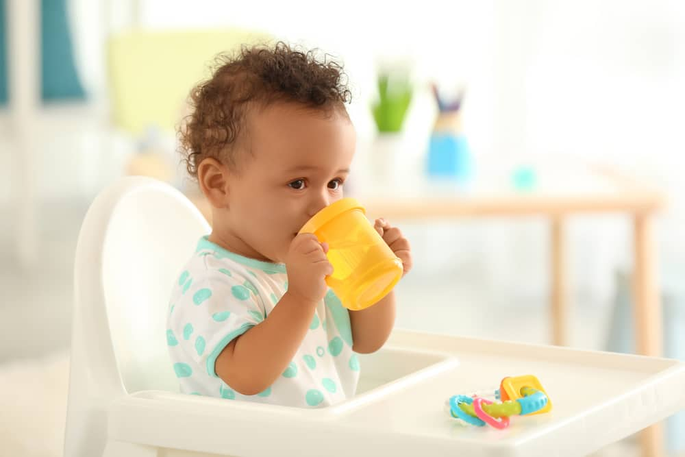 straight from breast to sippy cup