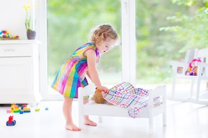 what your child develops during creative play